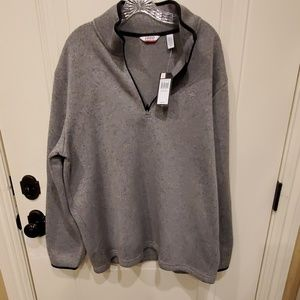 Izod Half Zip Mens Sweatshirt